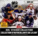 2019-20 Topps Hockey Stickers Box Break #1