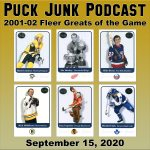 Puck Junk Podcast: September 15, 2020