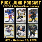Puck Junk Podcast #70: Oct. 15, 2020
