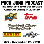 Puck Junk Podcast #72: Nov. 12, 2020
