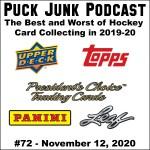 Puck Junk Podcast #72: Nov. 12, 2020