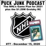 Puck Junk Podcast #77: Dec. 15, 2020