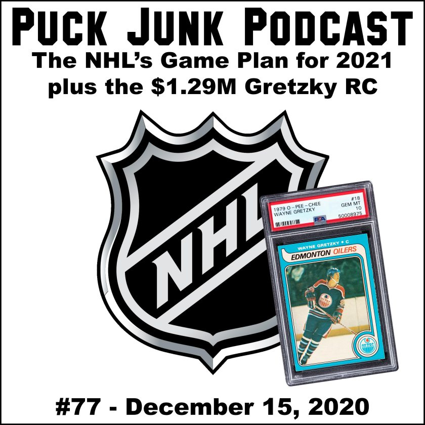 Puck Junk Podcast #77: Dec. 15, 2020
