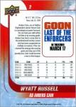 The Wyatt Russell Hockey Rookie Card