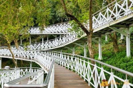 【遊記-嘉義】竹崎親子同遊景點《竹崎親水公園》花仙子步道/天空走廊