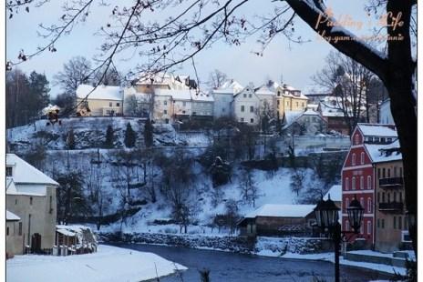【捷克-遊】浪漫雪國捷奧十日《巴德傑維契-庫倫洛夫》Day3聖誕卡片裡的雪景