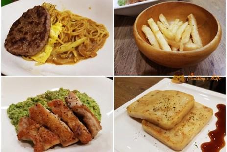 【新竹餐廳】清大夜市附近親子友善早午餐店《喫飽》附小型兒童遊戲區