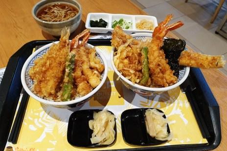 【新北林口】三井outlet餐廳《金子半之助》天丼加價優惠蕎麥麵.柚香雪酪