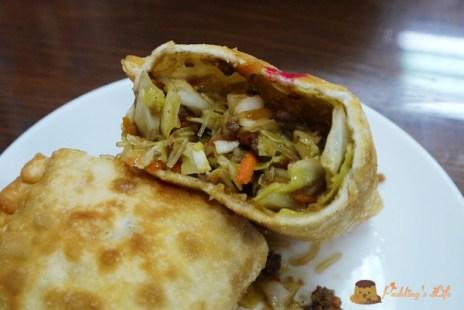 【食記-新竹】食品路川味/清燉牛肉麵《大東北韭菜盒子》高麗菜盒子