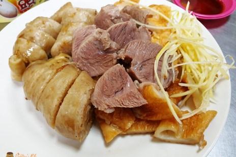基隆美食│基隆孝三大腸圈》傳統大腸蒸米腸.碳烤吉古拉.黑白切