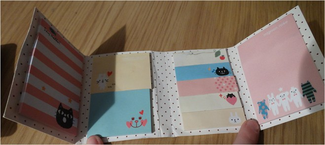 Cute and cheap sticky notes from ebay