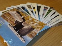 Stocking up on postcards
