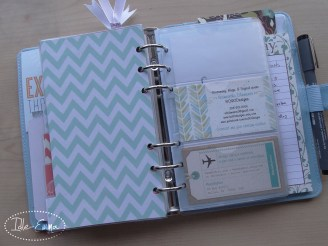 Photo - Geo, Geometric Personal Filofox Planner Setup (15) - Business Cards