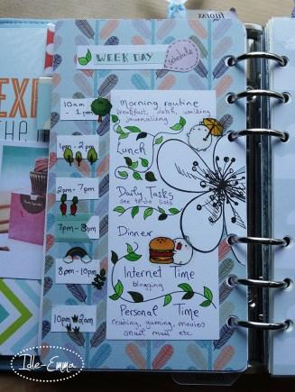 Photo - Planner Daily Schedule