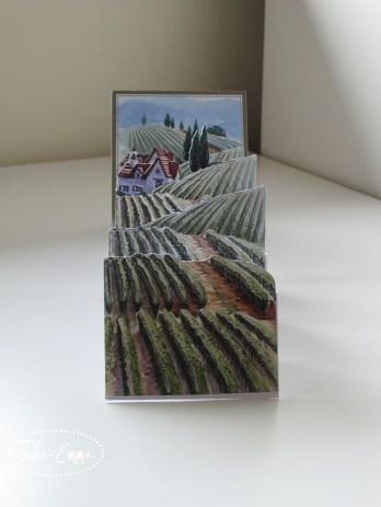 Photo - Decoupage Accordian Fold Card (3)