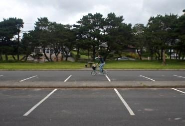 Parking lot circle