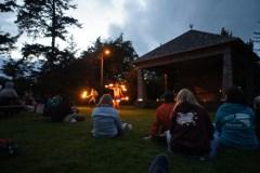Flaming Hula Hoops