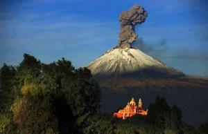 Sigue el Popocatépetl en fase 2 de alerta amarilla