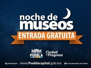 Noche de Museos Puebla 2017