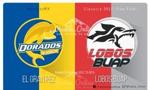 Dorados vs Lobos BUAP en vivo online, Final de Ascenso, Clausura 2017 – Horario, fecha, TV, donde ver