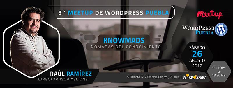 Tercer Meetup de WordPress Puebla