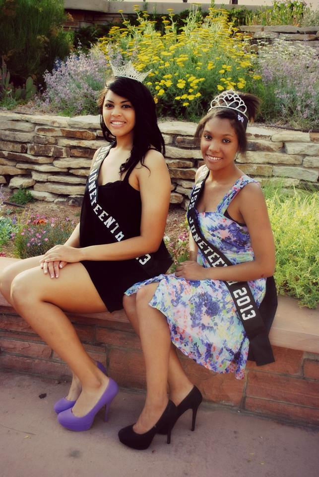 Pueblo Juneteenth Queen and Jr Miss