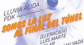 Viernes 5 octubre 2012: Bar Uno: Lluvia Ácida & Jorge Baradit, Luis Marte, Polar, Una niña malvada y más