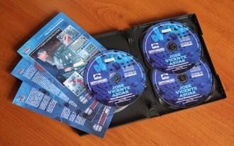 """Interior - Edición Triple CD """"Obra Electroacústica"""" de José Vicente Asuar."""