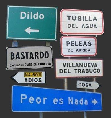 los nombres mas curiosos de pueblos españoles