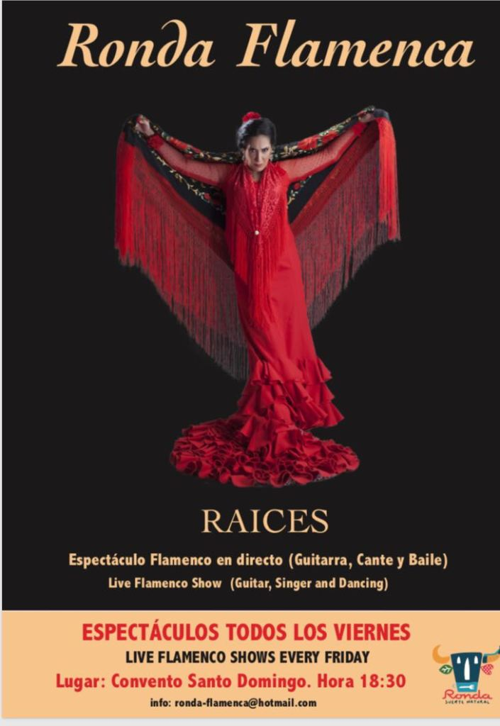 Espectáculo Flamenco RAICES