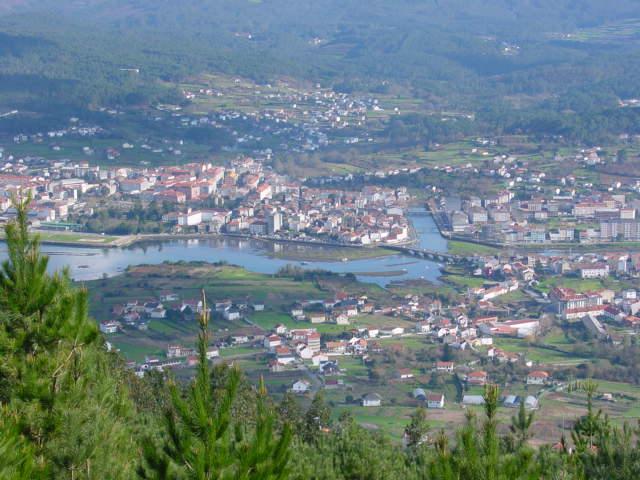 Noia, pueblo monumental en la Coruña