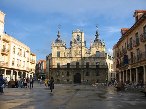 Astorga en la provincia de León