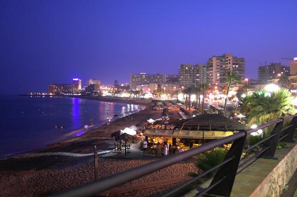 Benalmádena, en la costa de Málaga