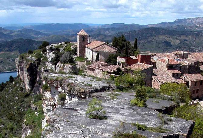 La localidad de Siurana en Tarragona