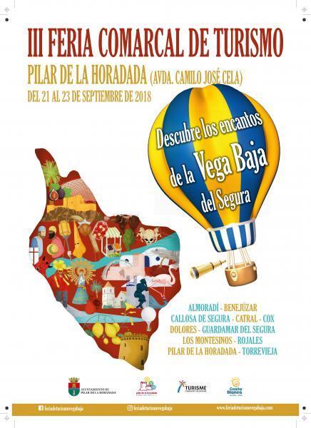 III Feria Comarcal de Turismo de la Vega Baja en Pilar de la Horadada