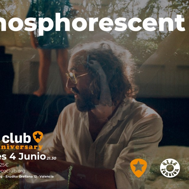 PHOSPHORESCENT ACTUARÁ EN LOCO CLUB