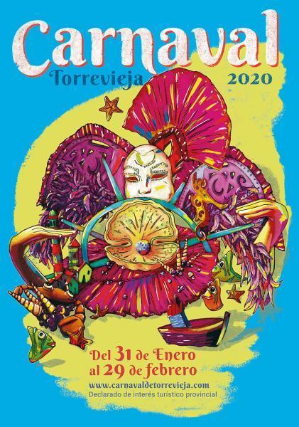 Cartel Carnaval Torrevieja 2020