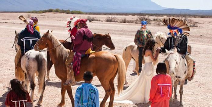 Los kikapúes, un pueblo que se resiste a perder su identidad (Coahuila),