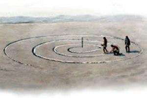 Geoglifo en espiral