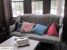 Typewriter and couch - Oglethorpe University - Atlanta, GA