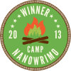 Camp-NaNoWriMo-2013-Winner-Campfire-Circle-Badge