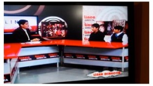 Puente Rundbrief 2013 Fernsehauftritt