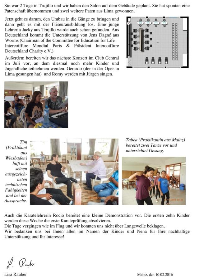 Tätigkeitsbericht Januar 2016 S2