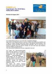 Reisebericht Puente August 2017
