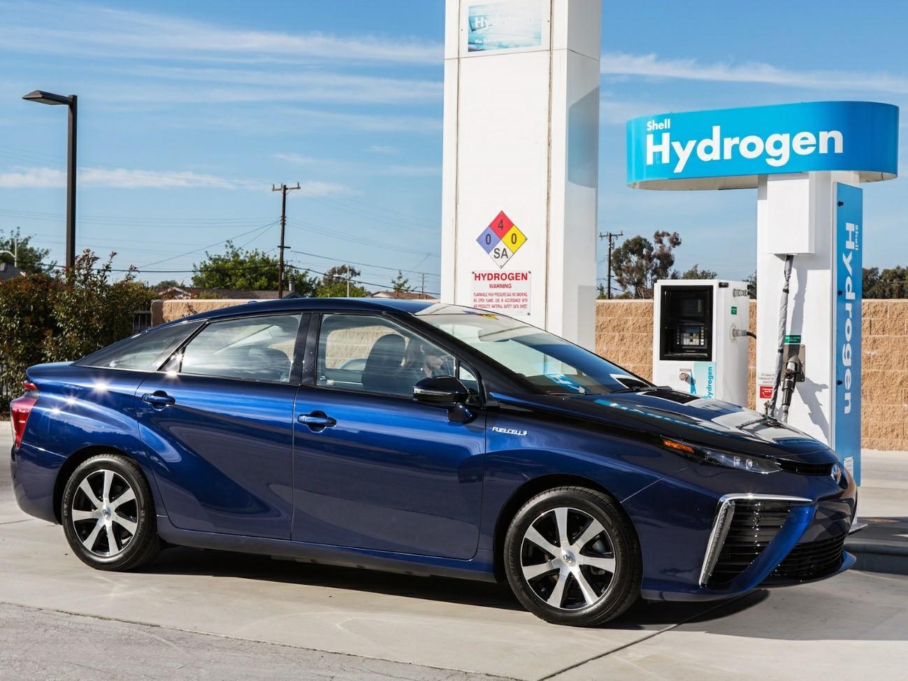 Toyota Mirai coche de hidrogeno