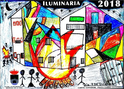 Cartel Luminarias 2018