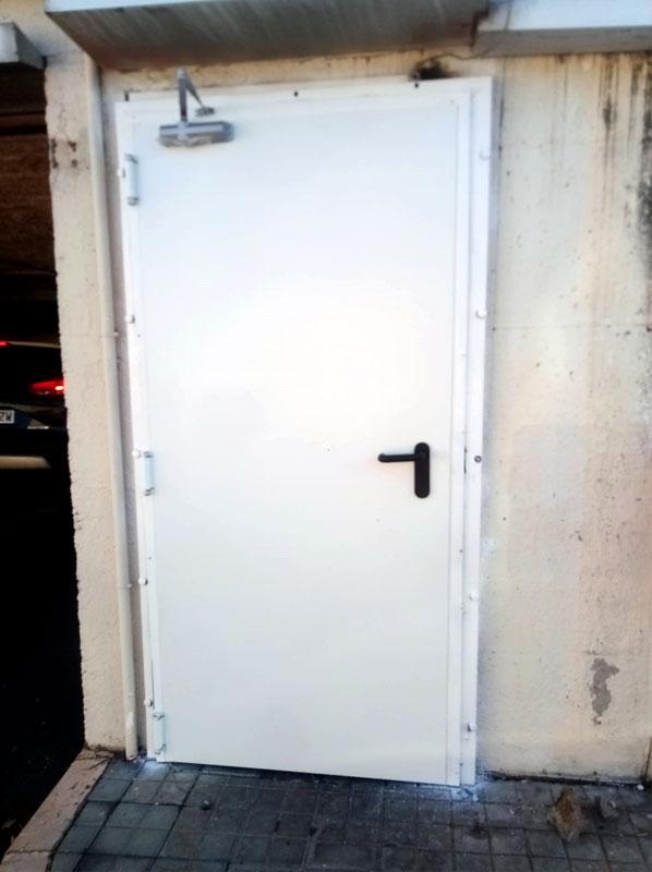 instalacion de puertas rf