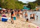 Dos playas con bandera amarilla en Puerto Rico