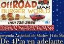 Celebra el Día de las Madres @ Off-Road Bar & Burger World