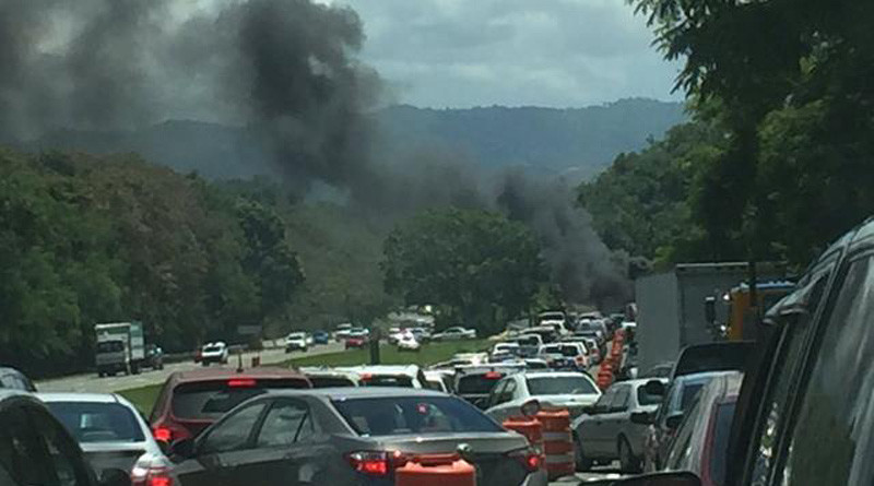 Última Hora: Accidente fatal en expreso 52 de Cayey a Caguas
